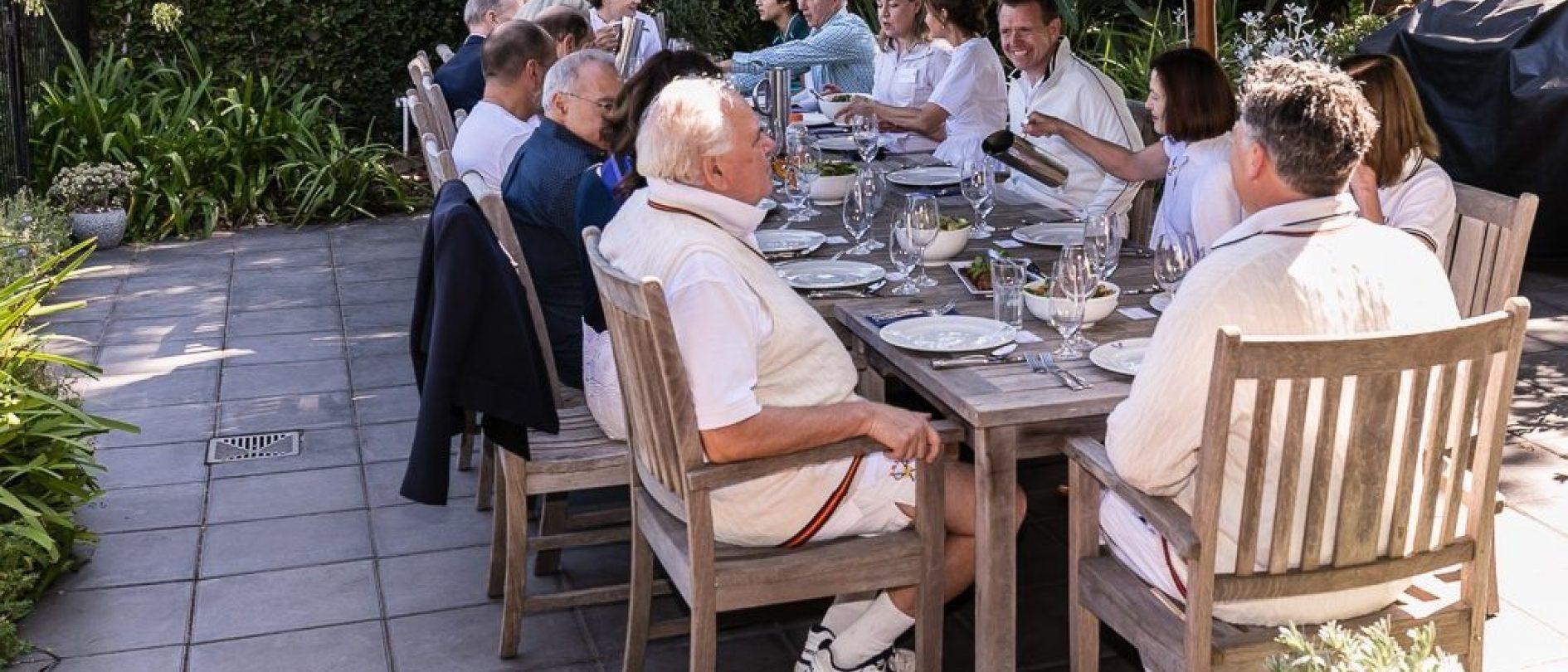 RMTC Members Lunch Outside 275