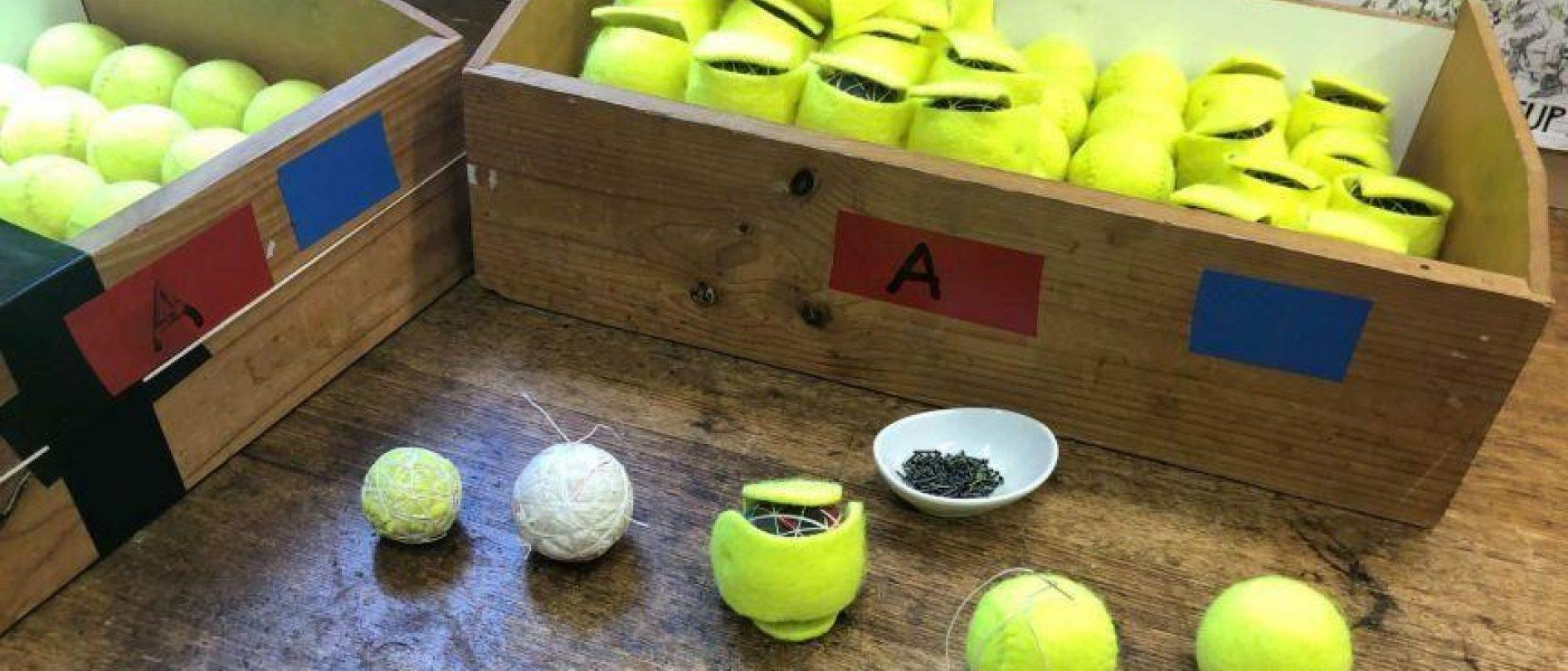 Making Tennis Balls Workflow